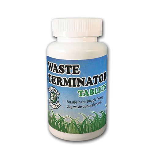 waste-terminator-tabletten,de orginele waste terminator geconcentreerde tabletten voor het beste reslultaat met uw doggie Dooley